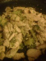 Ginger Miso Chicken and Broccoli