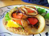 Low-Carb bun-less burger!