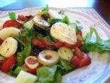 Jumbo salad for dinner