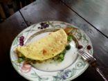 tofurkey veggie omelette