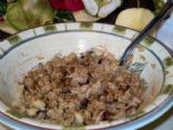 Healthy & Hearty Apple Cinnamon Cranberry Oatmeal