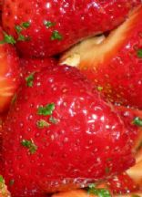Balsamic Vinegar Spiked Strawberries from Eating Well Recipes
