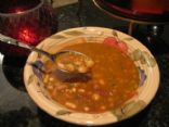 SUN-DRIED TOMATO BEAN SOUP