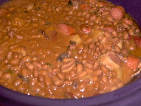Chuck Wagon Bake Beans Recipe Sparkrecipes