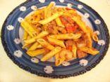 Cajun Chicken Andouille and Shrimp Pasta