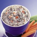 Low fat Spinach and Veggie Dip