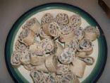 Low Carb Beef & Cream Cheese Tortilla Pinwheel Rollups