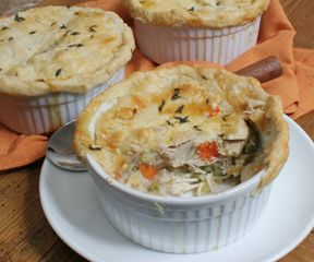 Easy Home Style Chicken Pot Pie