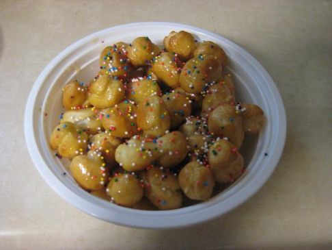 Struffoli (Italian Honey Balls)