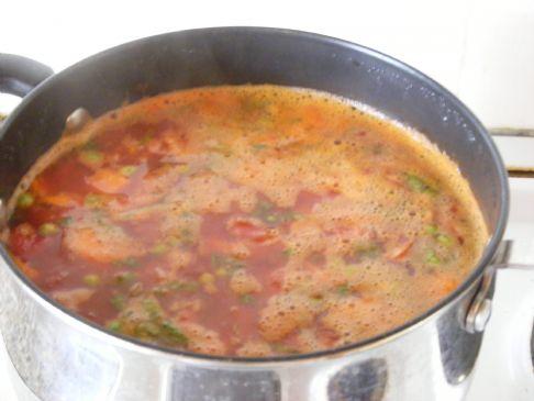 Smoked Sausage & Veggie Soup