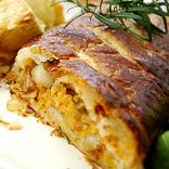 Carmelised Onion and Lentil Wellington