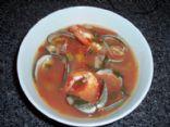 Manhattan seafood soup
