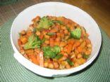 Chick Peas and Tuna Salad