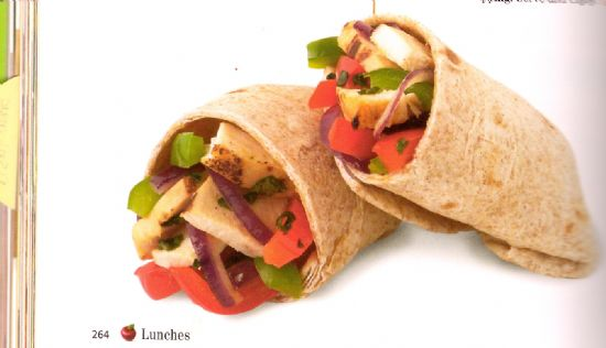 Cilantro Burrito - Eating For Life
