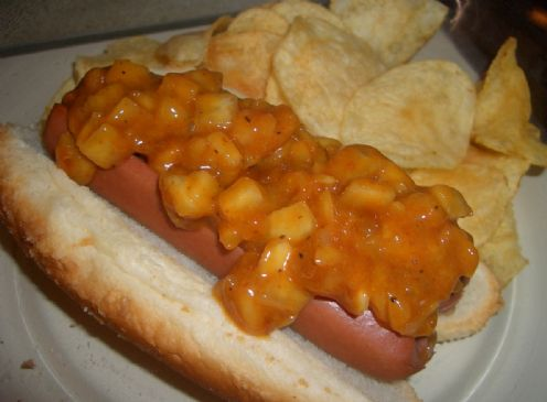 Simple BBQ Hotdog Relish