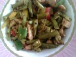 Green Bean & Chicken Stirfry