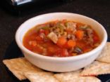 Hamburger Vegetable Barley Soup