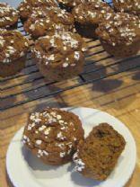Light Pumpkin Bran Muffins