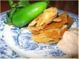 Jamilah's Potato, Jalapeno Rolled Tacos