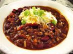 Chili, with Turkey and Kidney Beans