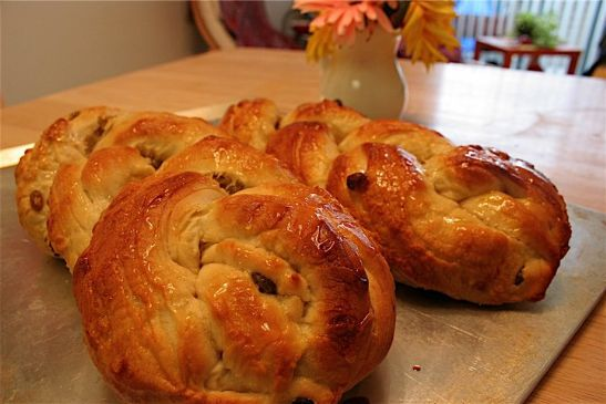 Yue's Braided Raisin Bread