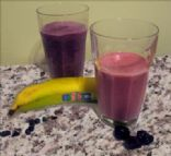 Rachel's Best for you blueberry smoothie
