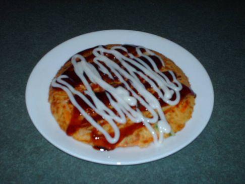 Okonomiyaki (Vegetarian)