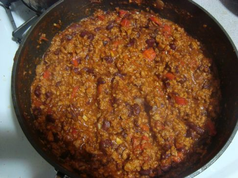 Easy, Healthy Chili: Beef, Turkey, and Veggies