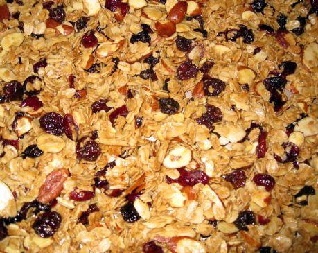Almond & Fruit Vanilla Scented Granola