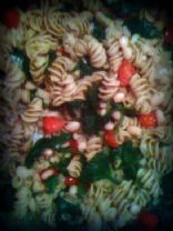 Rotelle, White Beans, Spinach, Tomato