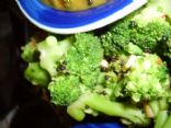 Spicy Sauteed Broccoli with Garlic