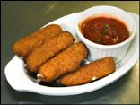 HG's Fiber-ific Fried Cheese Sticks