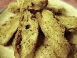 White Chocolate Biscotti