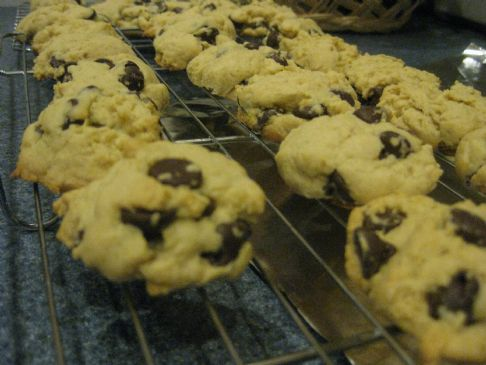 Skinnied-down version of Southern Living's Ultimate Chocolate Chip Cookie Recipe
