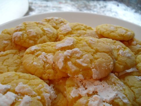 Lemon crinkles cookie recipe