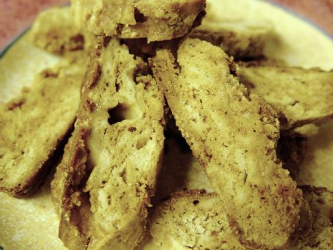 White Chocolate Biscotti