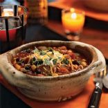 Three Bean Turkey Chili with Vegetables