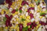 Bean, Corn and Veggie salad