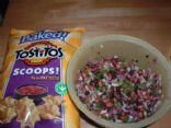 Chunky Rainbow Salsa for chips!