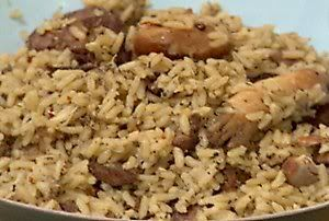 Cajun Chicken and Pork Jambalaya