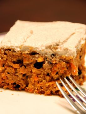 Whole Wheat Carrot Cake with Agave Nectar and Cream Cheese Frosting ...