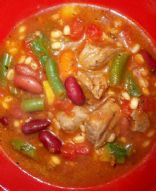 Vegetable Beef Barley Bean Stew - 1.5 Cups