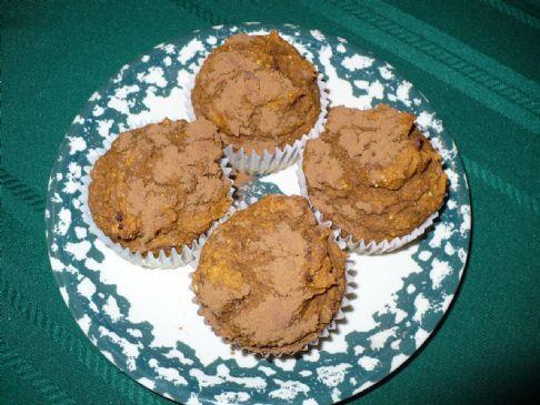 HealthierLynn's Whole Wheat Pumpkin Muffins