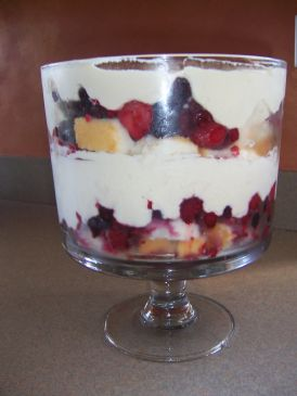 Triple Berry Trifle