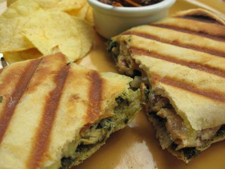 Chicken Basil Pesto Panini