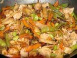 Wok Chicken Edamame Vegetable Stir Fry