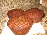 Healthy grains banana breakfast muffins