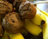 Nutty Banana-Chocolate Muffins