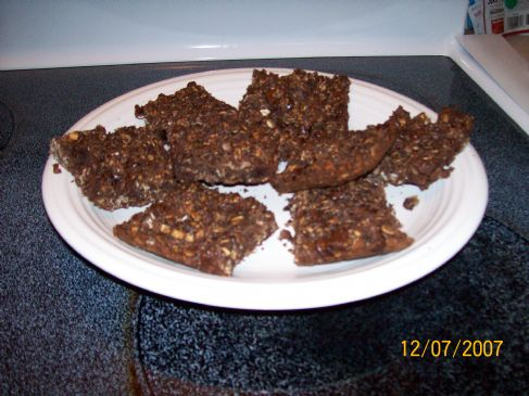 Protein Packed Chewy Chocolate Granola Bars