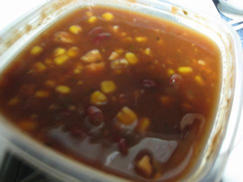Southwestern Veggie Soup
